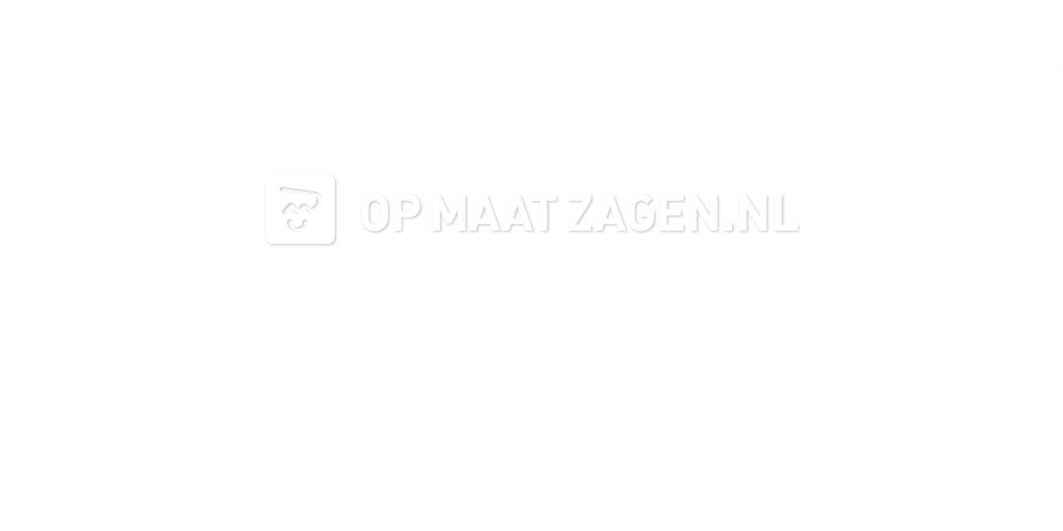 Meubelpaneel Wit Dekkend gemelamineerd