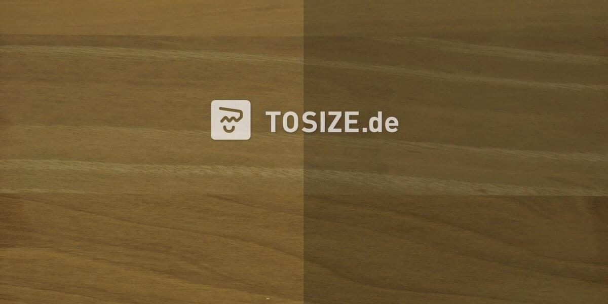 Massivplatte drei Schichten Nussbaum Europäisch