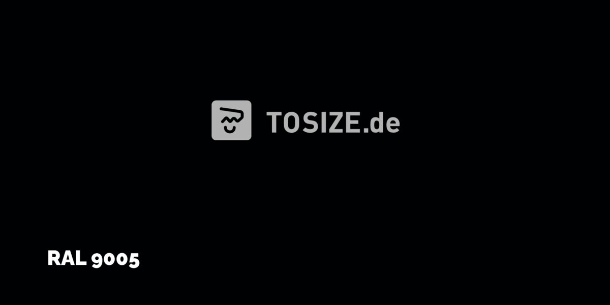 Trespa Izeon Schwarz 6mm (1 seite)