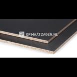 Plaatmateriaal: Spaanplaat Zwart Mat Gemelamineerd zwart mat gelakt- bestel gemakkelijk en snel online