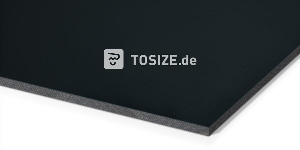 Trespa Izeon Schwarzgrau 6mm (1 seite)